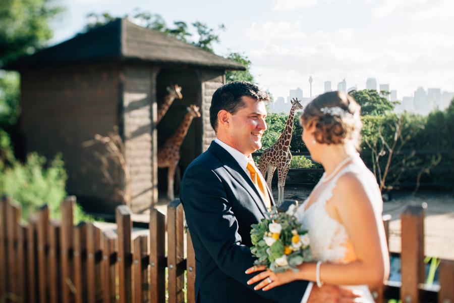 taronga zoo wedding