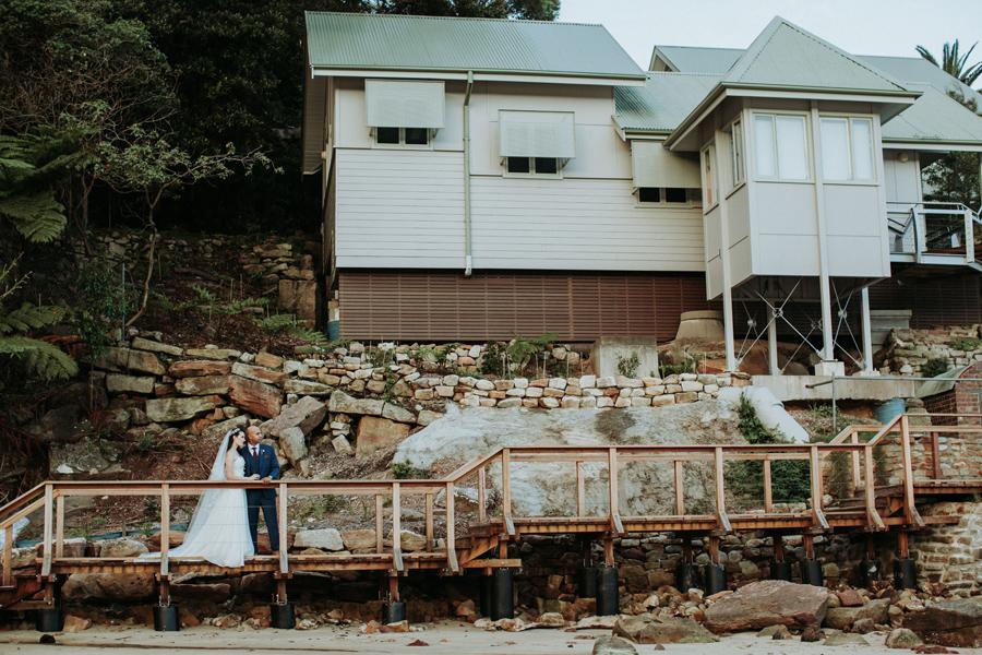 chowder bay wedding